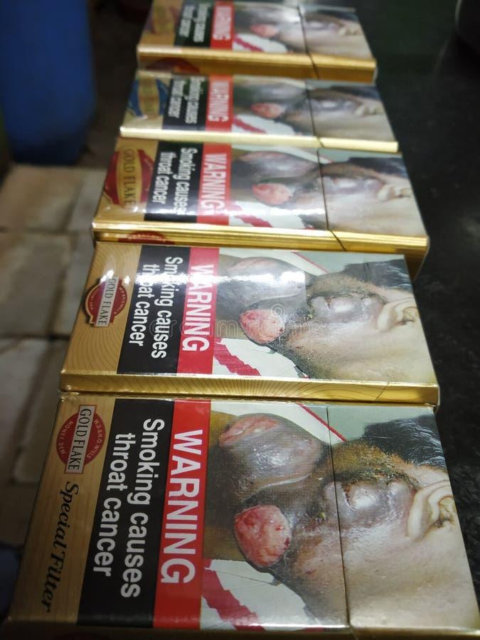 Matanças de fumo foto de stock