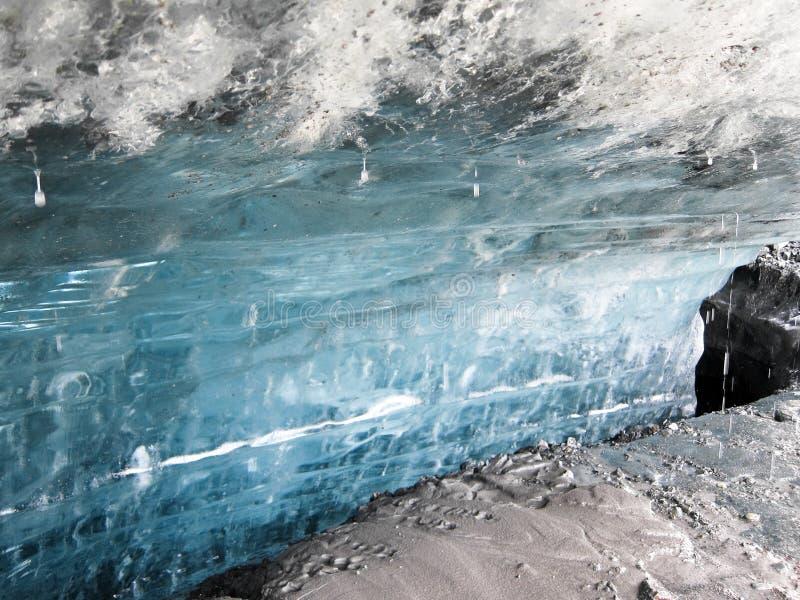 Matanuska Glacier in Alaska (USA) royalty free stock photography