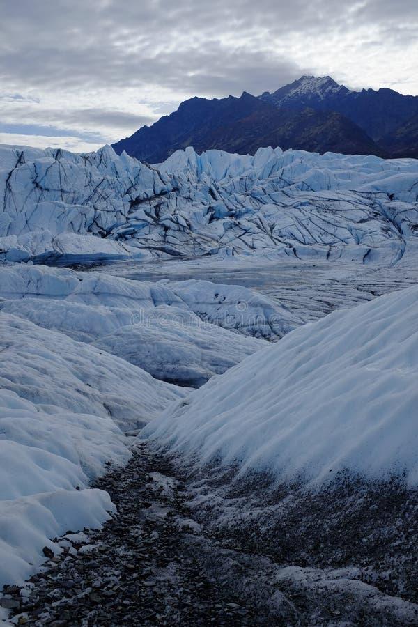 Matanuska Glacier Alaska royalty free stock photography