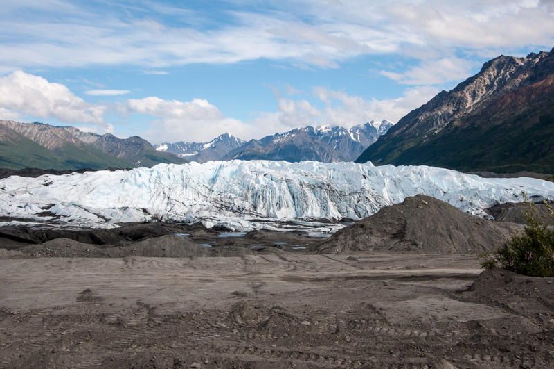 Matanuska Glacier royalty free stock photography