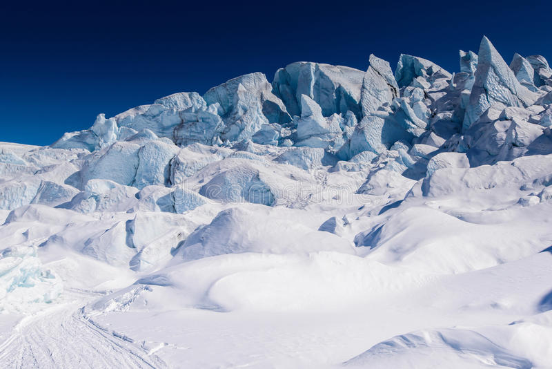Matanuska lodowiec obraz royalty free
