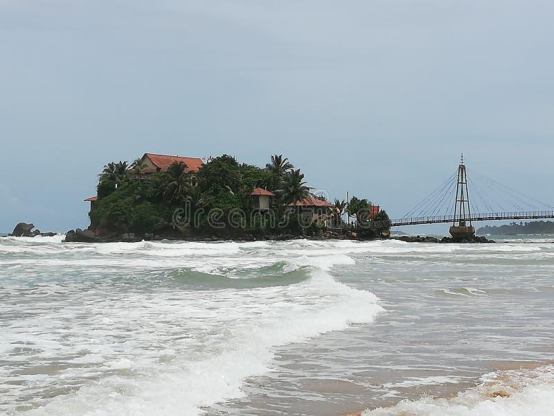 Matara Beach - Southern Provinec - Sri Lanka. Natural Beaches in Sri Lanka stock photo