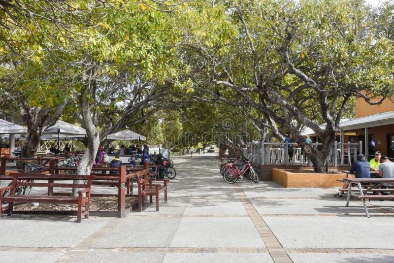 Matborggård på den Rottnest ön royaltyfria bilder