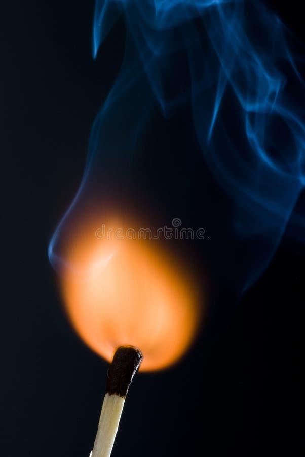 Download Match stock photo. Image of fire, smoke, woodmatch, flame - 12335756