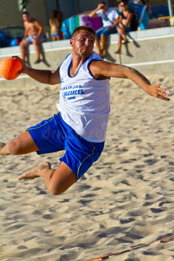Download Match Of The 19th League Of Beach Handball, Cadiz Editorial Stock Photo - Image: 20472733
