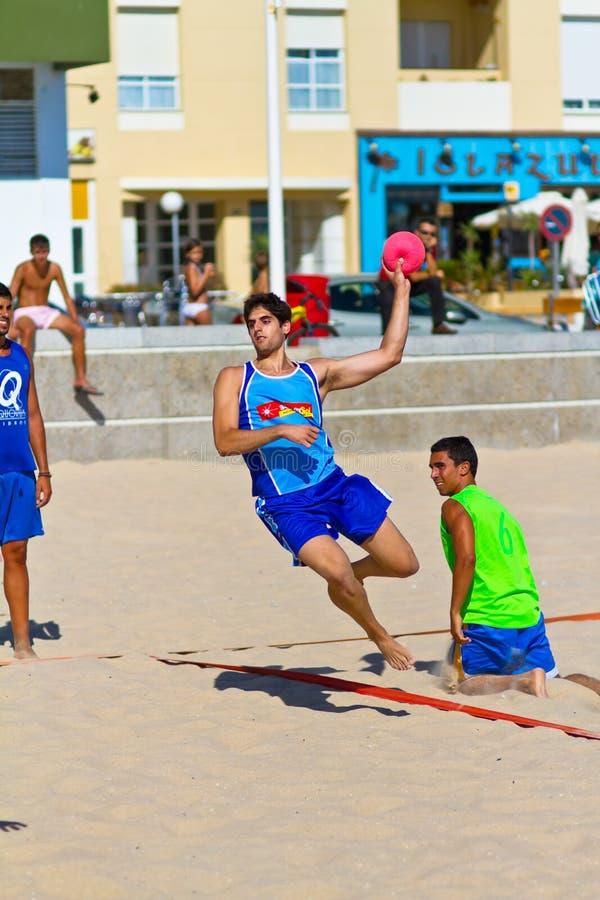 Download Match Of The 19th League Of Beach Handball, Cadiz Editorial Photo - Image: 20841946