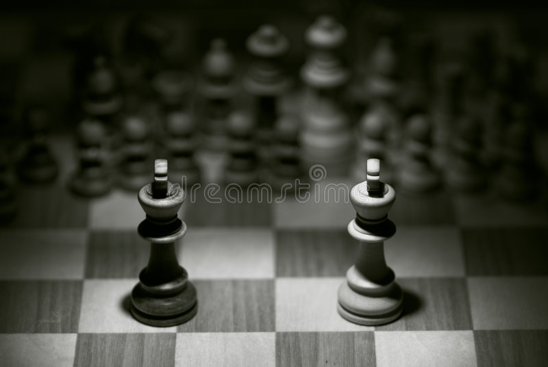 The Match royalty free stock photos