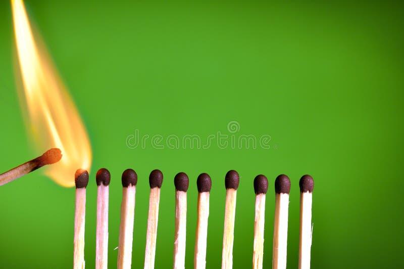 Match photo stock