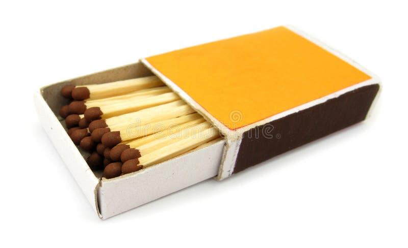 Match-box stock afbeeldingen
