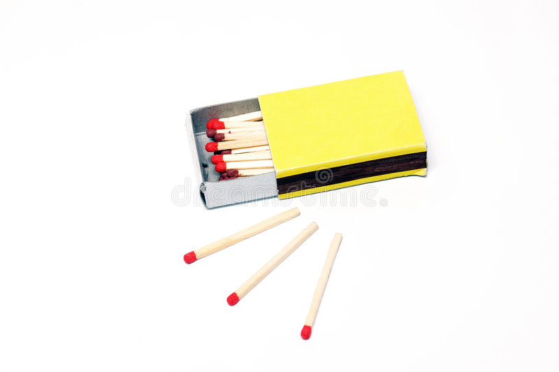 Download Match box stock image. Image of isolated, flame, danger - 1097327
