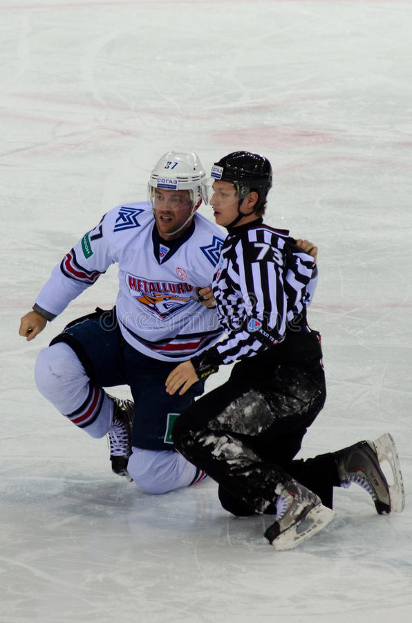 match d'hockey photos libres de droits