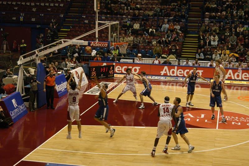 Match de basket photos stock