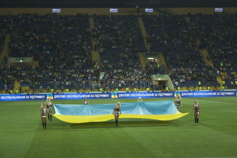 match för ceremonidetaljfotboll arkivbilder