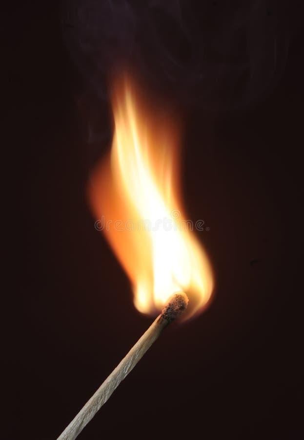 Match Fire stock photo