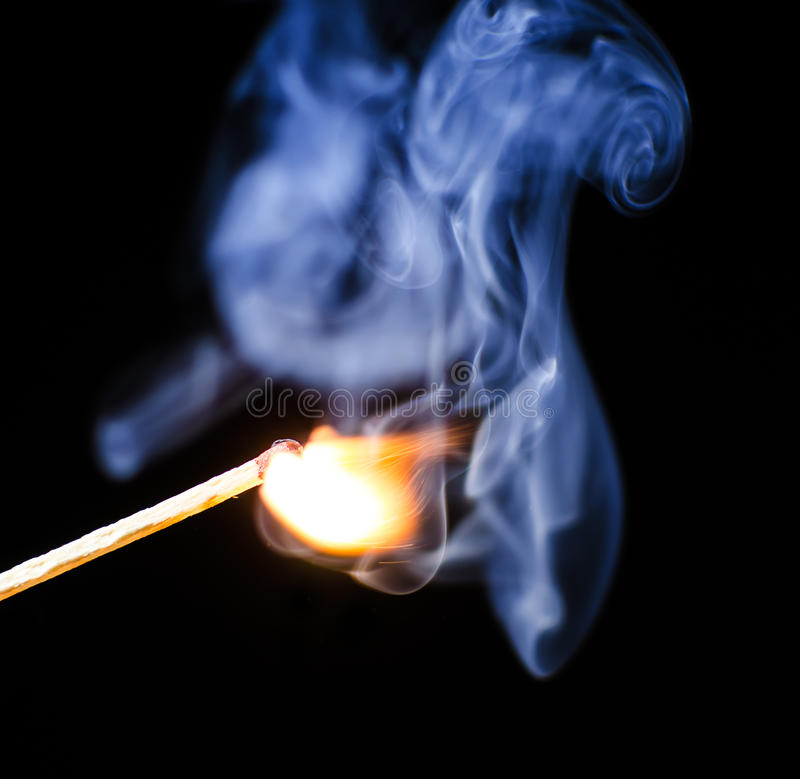 Download Match ignition stock image. Image of macro, close, matchstick - 28745737
