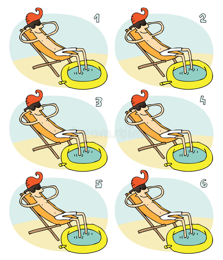 Download Match Pairs Visual Game: Small Pool Royalty Free Stock Images - Image: 33653019