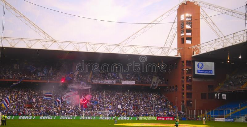 Download Before The Match Sampdoria - Inter Editorial Stock Image - Image: 17231299