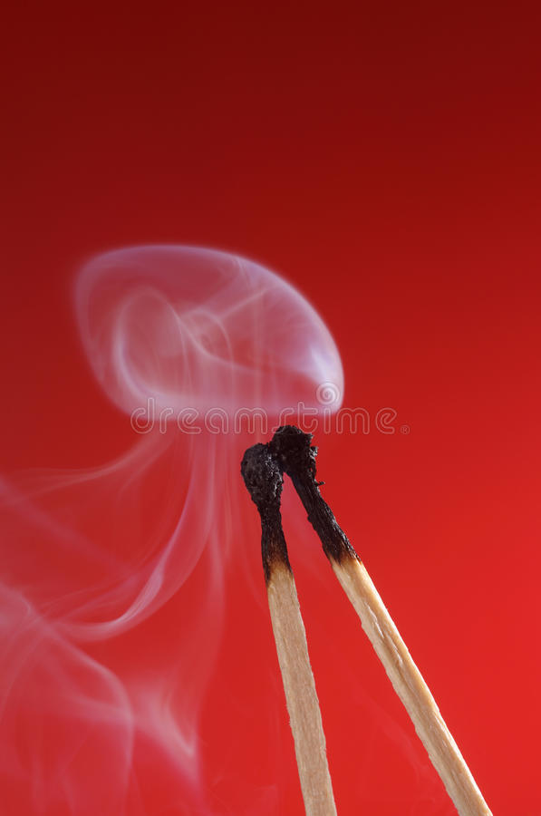 Download Match With Smoke Stock Photos - Image: 25816503