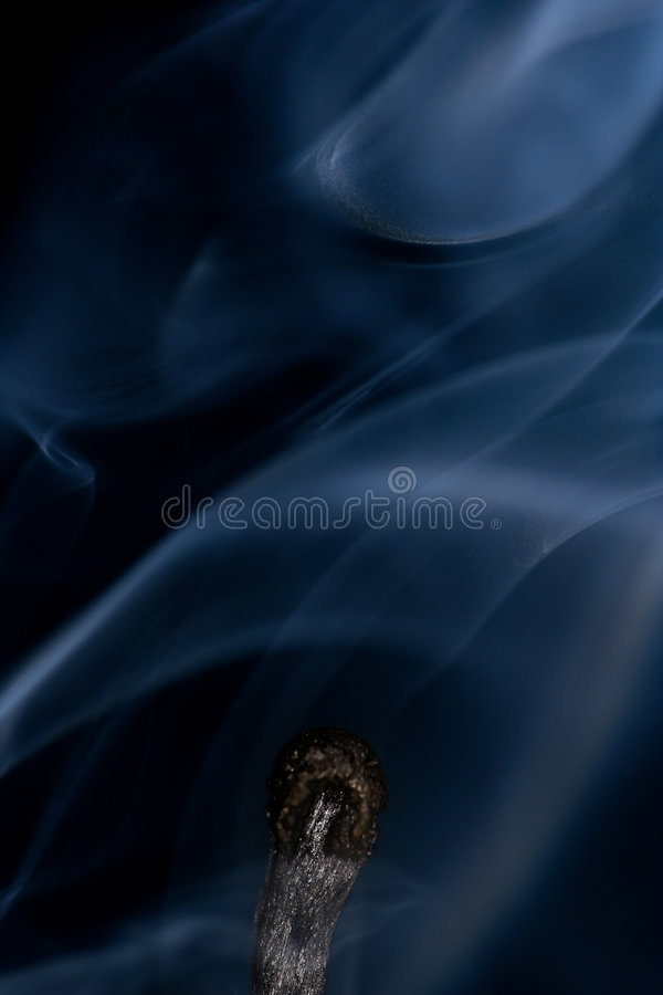 Download Match with smoke isolated stock image. Image of extinct - 4303805