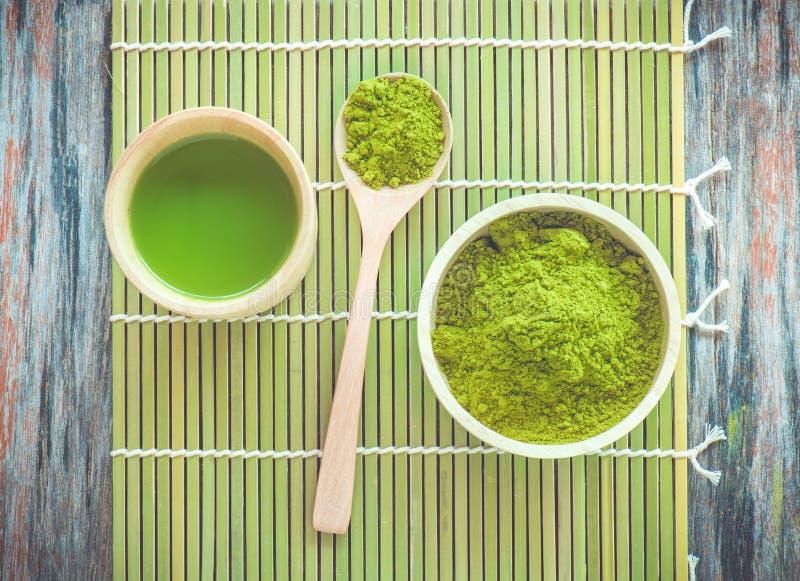 Matcha茶 免版税库存照片