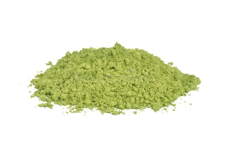 Matcha groene thee royalty-vrije stock afbeelding