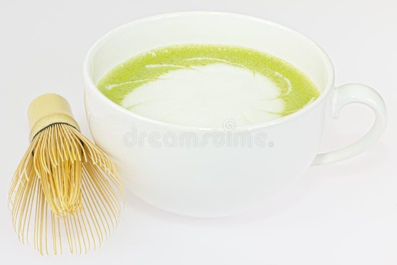 Matcha-latte fotos de stock
