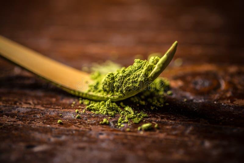 matcha zielona herbata zdjęcia royalty free
