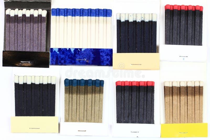 matchbooks группы стоковые фото