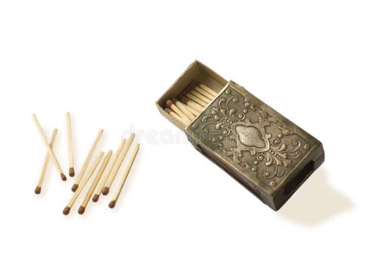 matchbox metal obraz stock