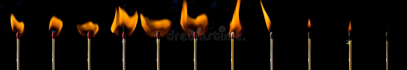 Download Matches stock photo. Image of element, matchstick, wooden - 4461934