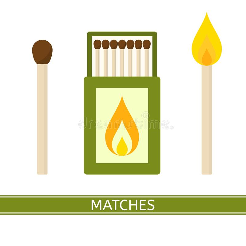 Free Matches Box Icon Vector Stock Image - 104431931