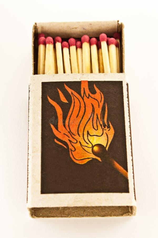 Matches box stock photo
