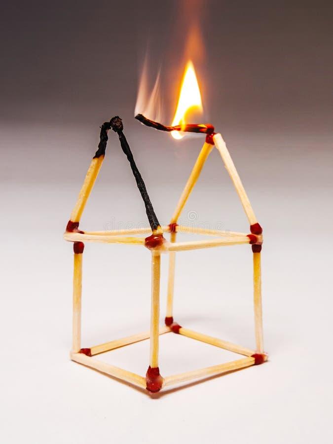 Free Matches Burning Stock Photo - 40857760