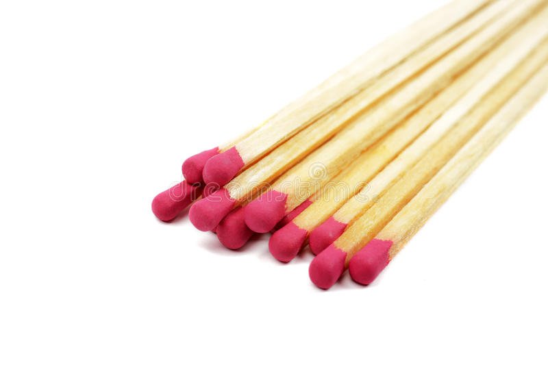 Download Matches isolated. stock image. Image of heat, flammable - 12764237