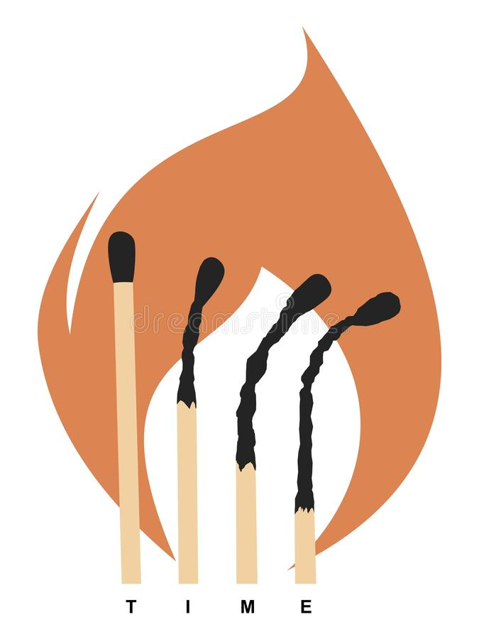 Matches vector illustration