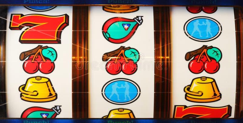 Matching Reels On Slot Machine Editorial Image