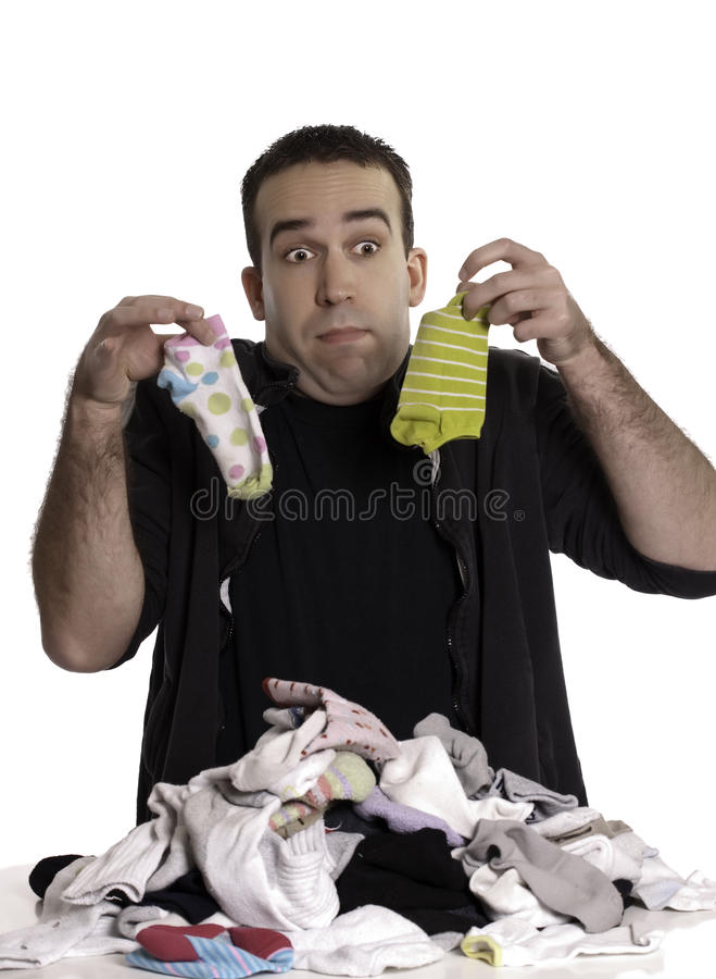 Matching Socks Royalty Free Stock Image