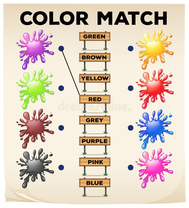colors matching worksheet | Ideas for the House | Pinterest ...