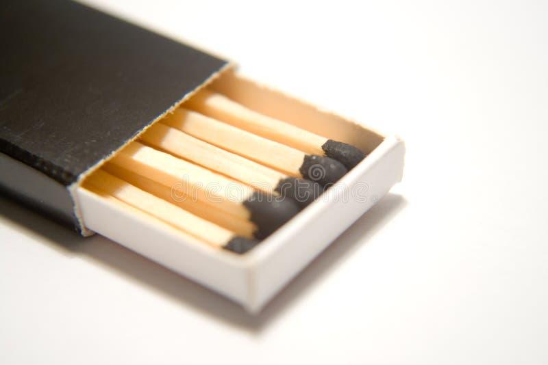 Matchstick stock photo