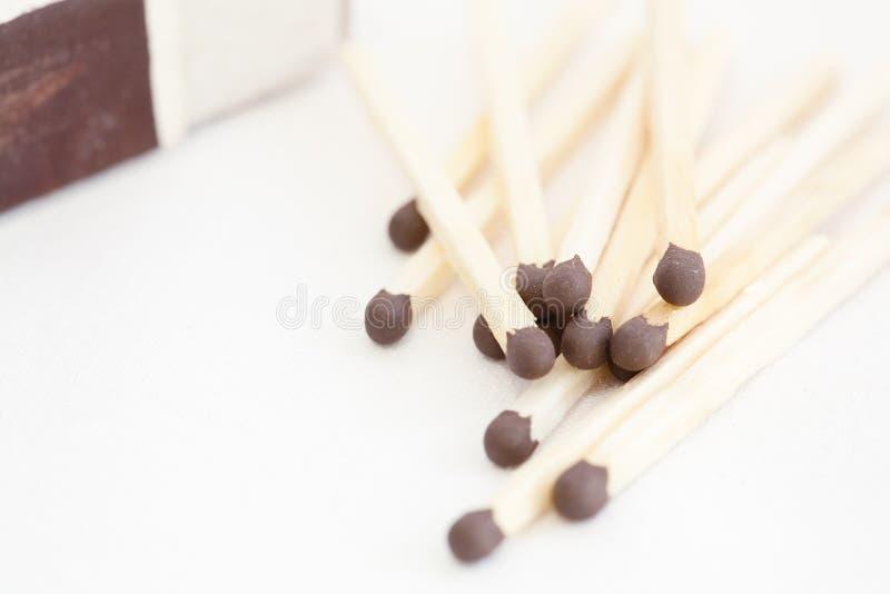 matchsticks stock afbeelding