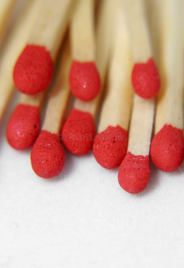 Matchsticks foto de stock