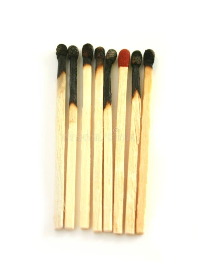 Matchsticks stock photos
