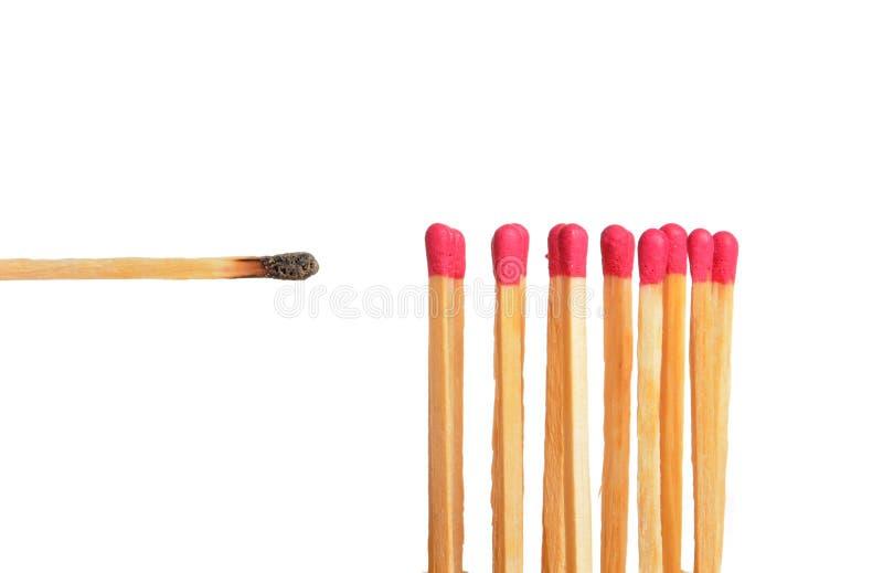 Matchstock stockbilder