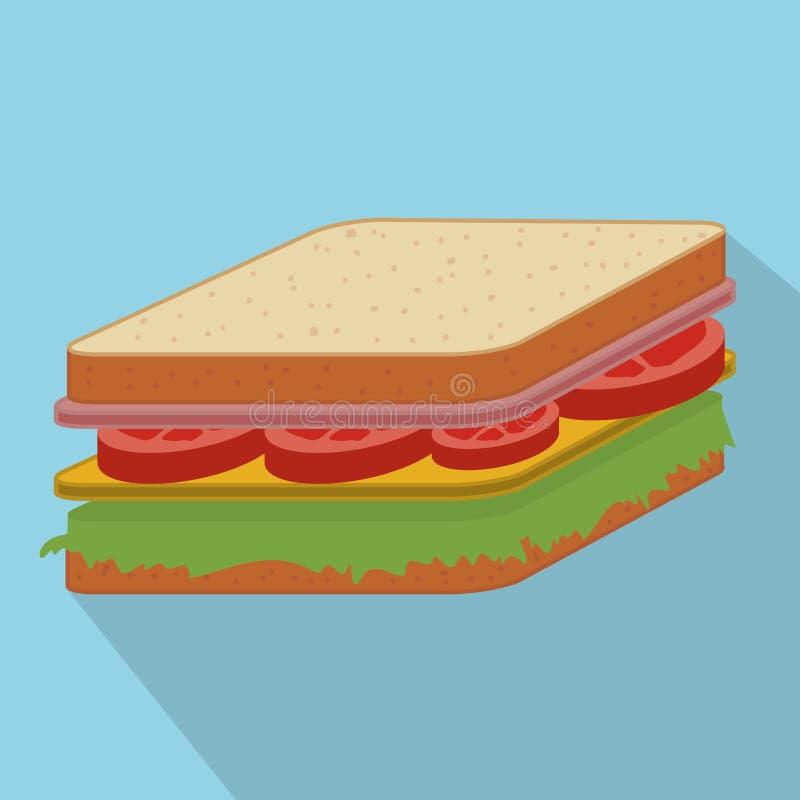 Matdesign vektor illustrationer