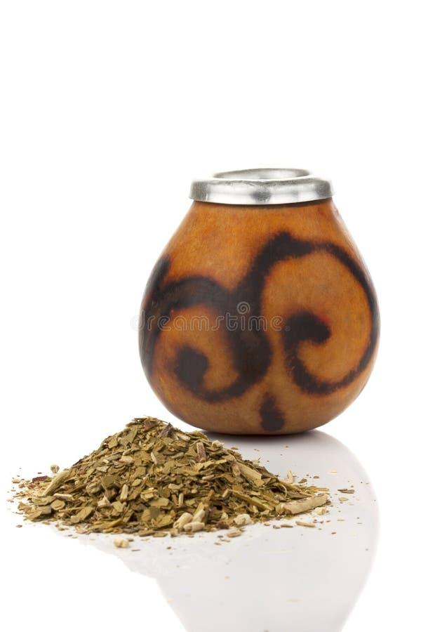 Mate tea royalty free stock photo