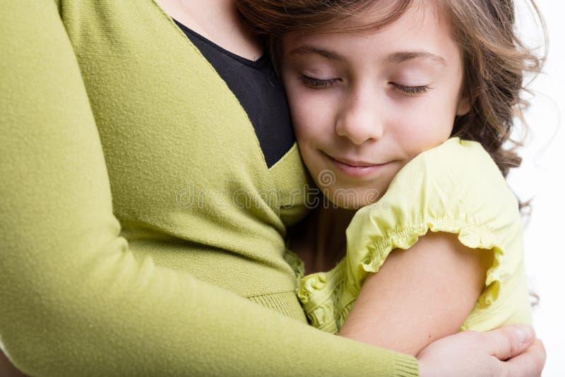 Mateczny mienie jej córka zdjęcie royalty free