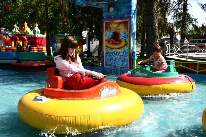 Matejska Fair - Bumping Boat Editorial Stock Photo