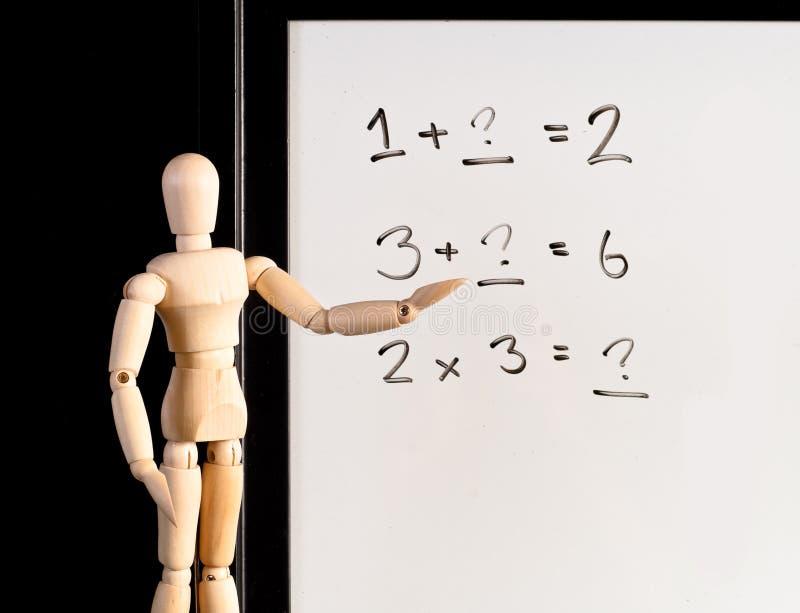 Matemática básica imagem de stock