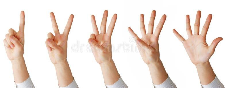 Matemática da mão foto de stock royalty free