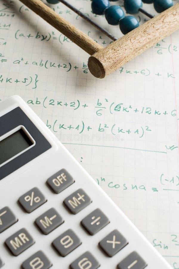 Matemáticas imagenes de archivo
